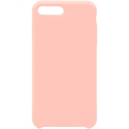 Чехол для iPhone InterStep (iPhone 8/7 Plus SOFT-T METAL ADV розовый)