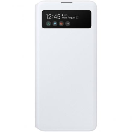 Чехол Samsung (S View Wallet Cover для A51, White)