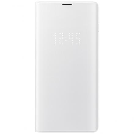 Чехол Samsung (View Cover для Galaxy S10+, White)