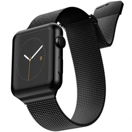 Ремешок X-Doria (Mesh Hybrid Band Apple Watch 44/42mm черный)