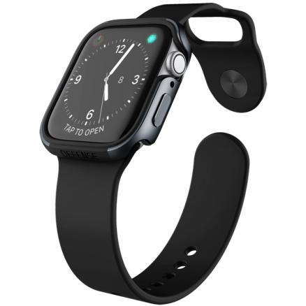 Бампер для Apple Watch X-Doria (Defense Edge Apple Watch 40mm черный)