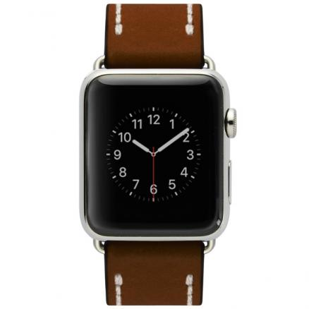 Ремешок Cozistyle (Leather Band Apple Watch 42mm Dark Brown)