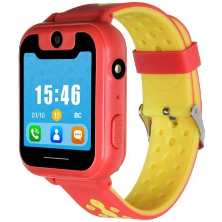 Часы с GPS трекером Digma (Kid K7m Red/Yellow)