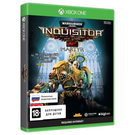 Xbox One игра Bigben (Warhammer 40,000: Inquisitor - Martyr Standard Ed)