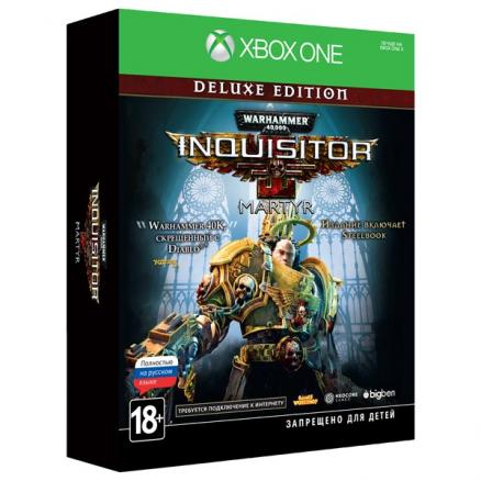Xbox One игра Bigben (Warhammer 40,000: Inquisitor - Martyr Deluxe Ed)