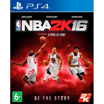 PS4 игра Take Two (NBA 2K16)
