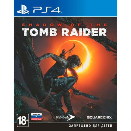PS4 игра Square Enix (Shadow of the Tomb Raider)