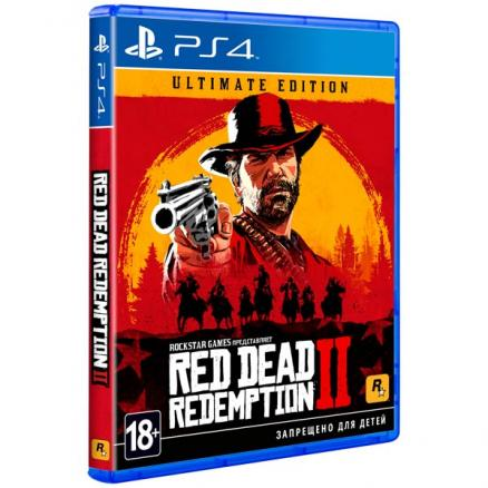 PS4 игра Take-Two Red Dead Redemption 2. Ultimate Edition Take Two