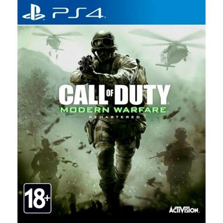 PS4 игра Activision (Call of Duty: Modern Warfare Remastered)