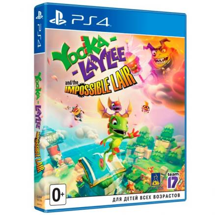 PS4 игра . (Yooka-Laylee and the Impossible Lair)