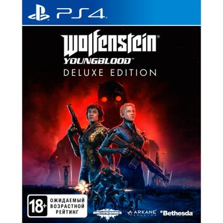 PS4 игра Bethesda (Wolfenstein: Youngblood. Deluxe Edition)