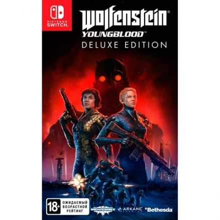 Switch игра Bethesda (Wolfenstein: Youngblood. Deluxe Edition)