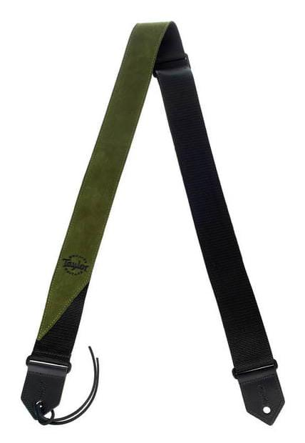 65120 Suede/Poly Strap, Olive