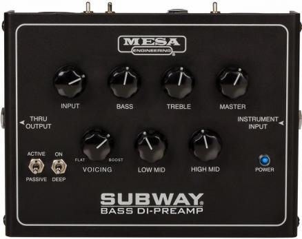 SUBWAY® BASS DI-PREAMP