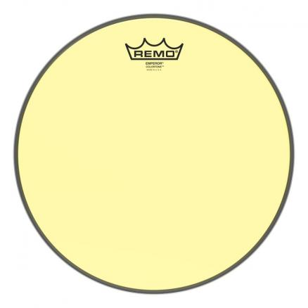 BE-0312-CT-YE Emperor® Colortone™ Yellow Drumhead, 12.