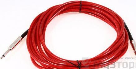 15` CALIFORNIA INSTRUMENT CABLE CANDY APPLE RED