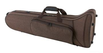 Trombone Case Compact Brown