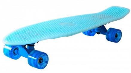 Y-Scoo Скейтборд Big Fishskateboard Glow 27